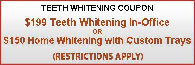 Teeth whitening Coupons by BVL Family dental Center in Kissimmee, FL